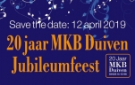 12 april 2019 20 jaar MKB Duiven Jubileumfeest